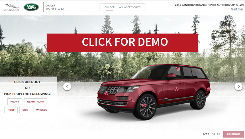 Click to see our JLR Demo